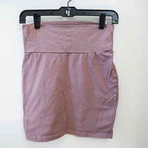 Soft Mini Skirt Comfortable Work Attire